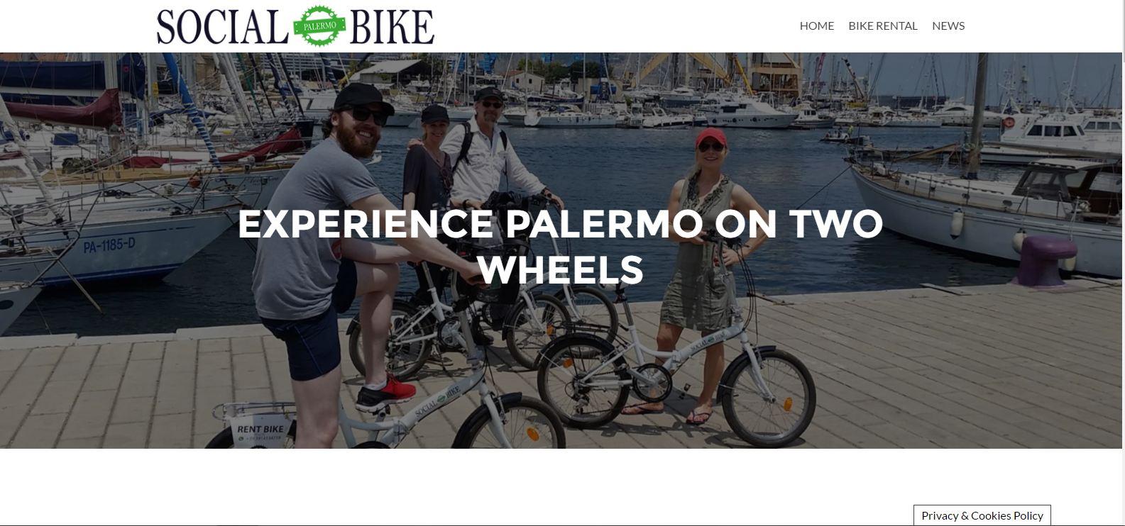 social bike new website
